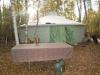 Наше первое общее помещение - шатер