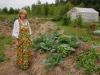 А осенью то какая капуста вырастет