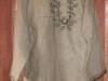Вышитая мужская рубаха из льна