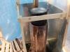 Печка в полиэтиленовой баньке