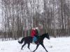 Покатать всегда я рада на коне своем друзей