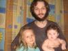 Рома с дочками
