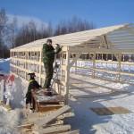 строим ангар